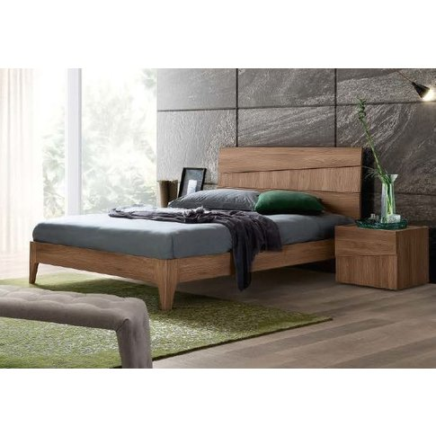 Camel Letto Storm Fold Wooden Italian Bed