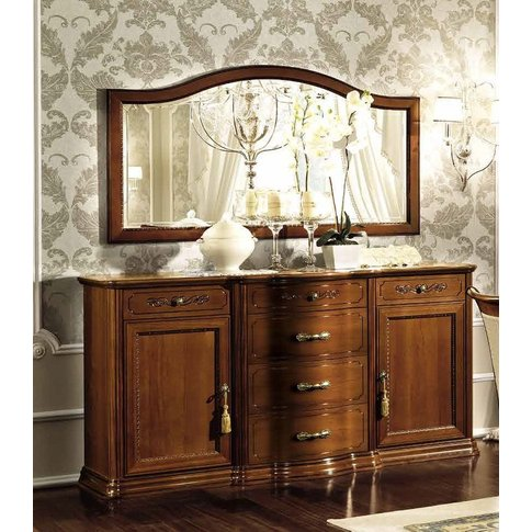 Camel Torriani Day Walnut Italian Buffet Sideboard