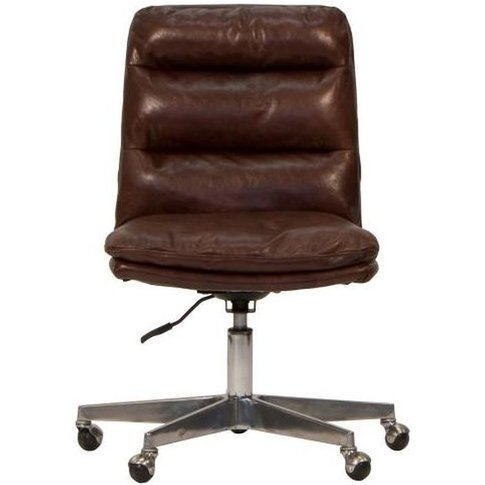 Carlton Additions Hallam Brown Leather Office Chair