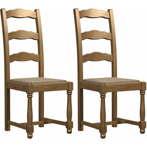 Carlton Copeland Oak Dining Chair (Pair)