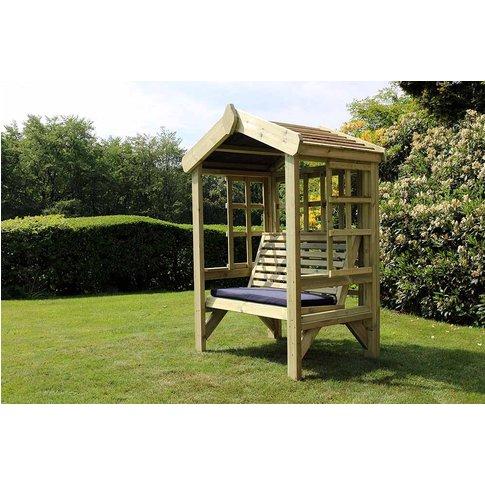 Churnet Valley Cottage 2 Seater Garden Arbour Trelli...