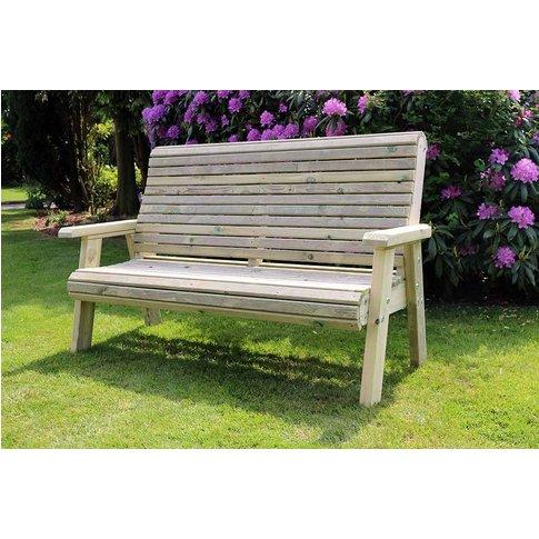 Churnet Valley Ergo 3 Seater Garden Bench