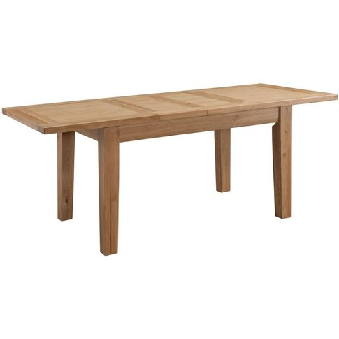 Classic Colorado Large Extending Dining Table - Oak