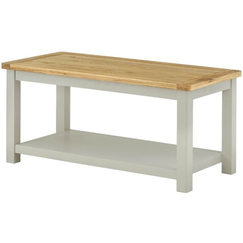 Classic Portland Coffee Table - Stone Grey Painted