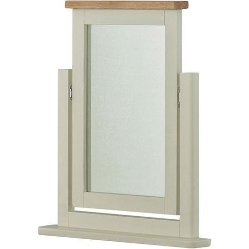 Classic Portland Swing  Mirror - Stone Grey Painted