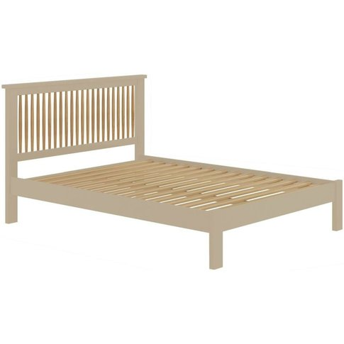 Classic Portland 3ft Single Spindle Bed - Pebble Pai...