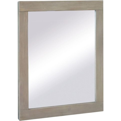 Sorrento Reclaimed Pine Rectangular Wall Mirror - 80...