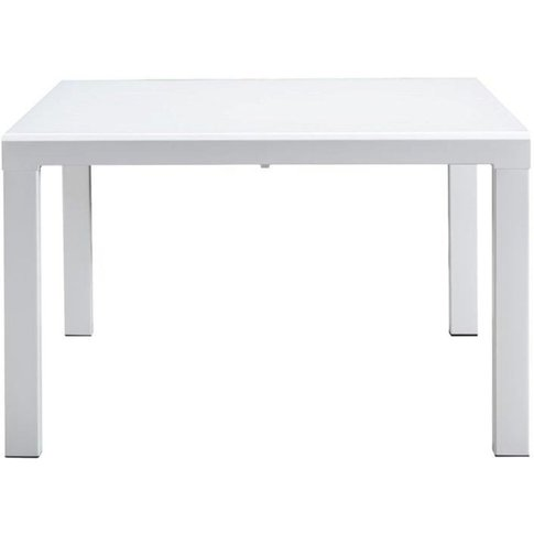 Phoenix White 120cm-223cm Extending Dining Table