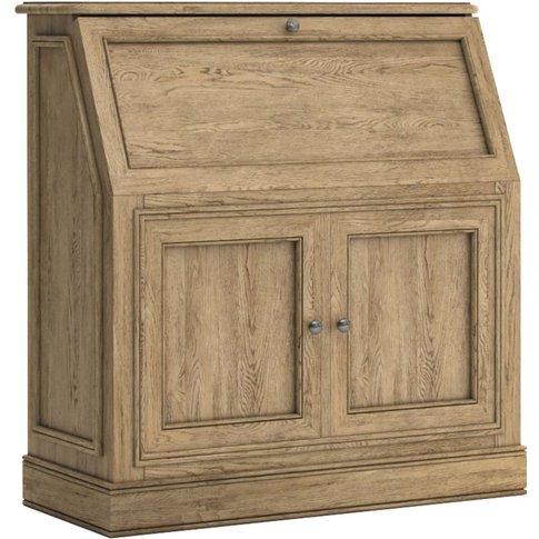 Versailles Oak Bureau Desk