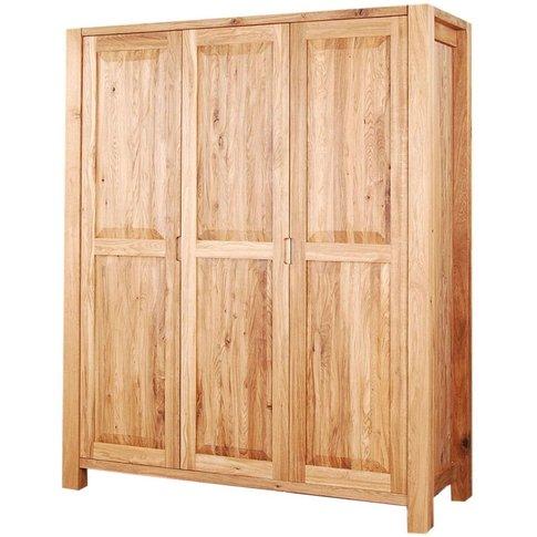 Clemence Richard Forest Oak 3 Door Wardrobe