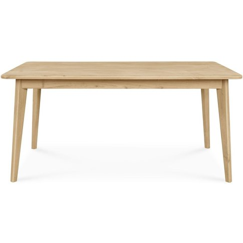 Modena Solid Oak 160cm Dining Table - 200a