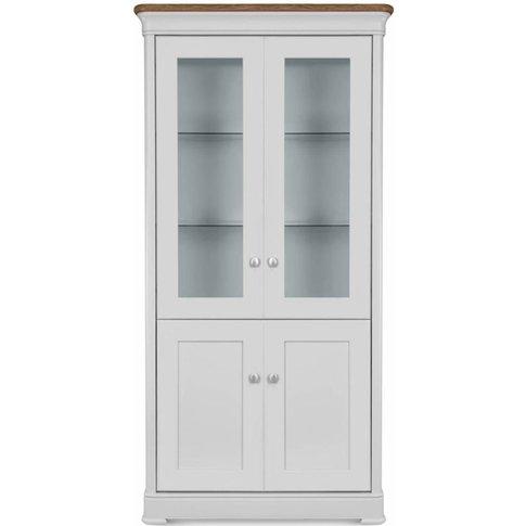 Moreno Painted Glazed Display Cabinet - 614