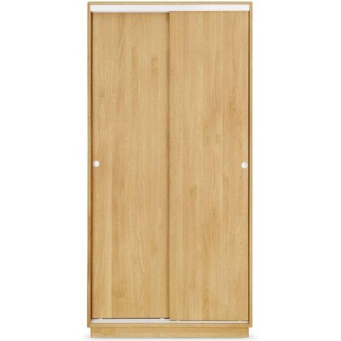 Clemence Richard Portofino Brushed Solid Oak Wardrob...
