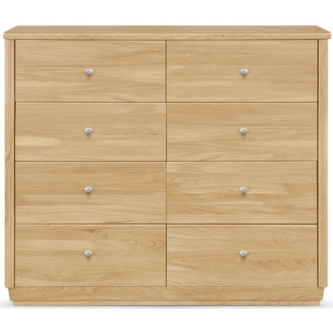 Clemence Richard Sofia Oak 8 Drawer Sideboard
