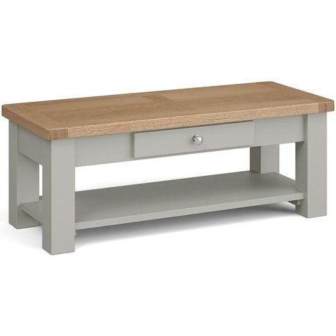 Corndell Daylesford 1 Drawer Coffee Table - Oak And ...