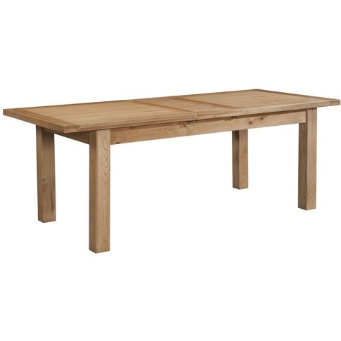 Dorset Oak 180cm Dining Table By Devonshire