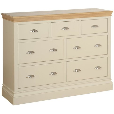Lundy Painted Pine Large 3+4 Drawer Chest By Devonshire