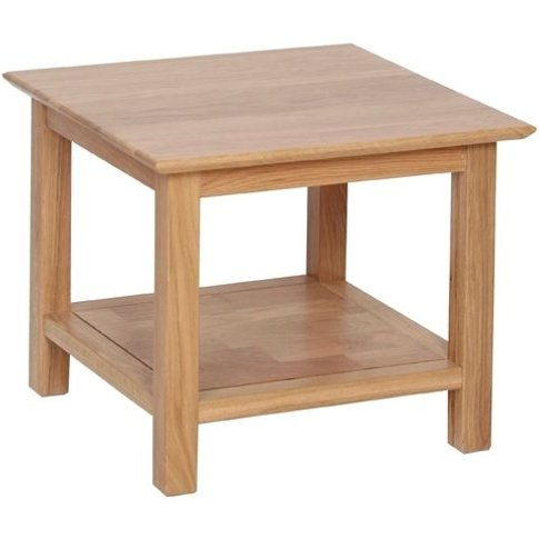 New Oak Small Coffee Table By Devonshire
