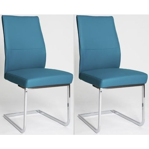 Seattle Blue Dining Chair (Pair)