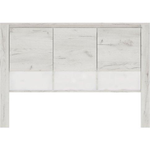 Aurelia White Desk Top Unit