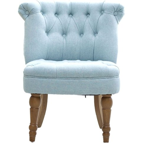 Gfa Cotswold Accent Chair - Duck Egg Fabric