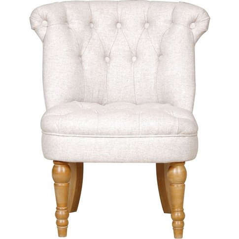 Gfa Cotswold Accent Chair - Stone Fabric
