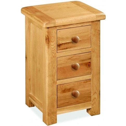Global Home Cork Oak Bedside Cabinet