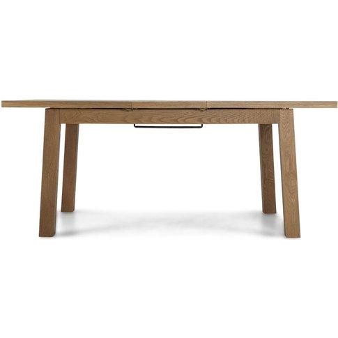 Bourg Oak Rectangular Extending Dining Table