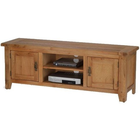 Cherington Oak Plasma Tv Unit