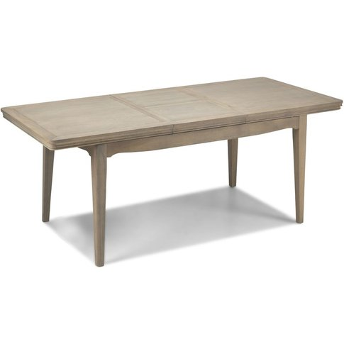 Georgina Grey Washed Oak Large Extending Dining Table