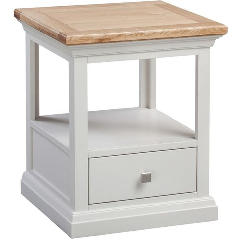 Homestyle Cotswold Painted 1 Drawer Lamp Table