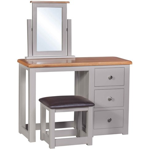 Homestyle Diamond Painted Dressing Table