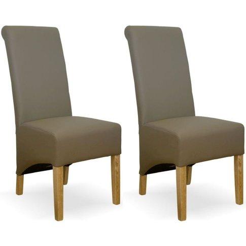 Homestyle Richmond Mushroom Dining Chair