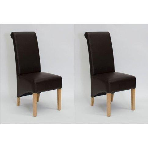 Homestyle Richmond Matt Coco Leather Dining Chair