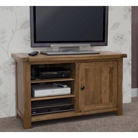 Homestyle Rustic Oak Tv Cabinet