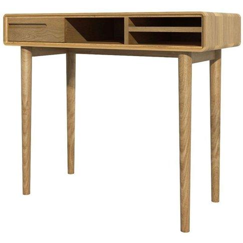 Homestyle Gb Scandic Oak Small Computer Desk