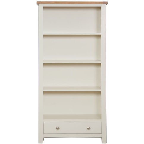 Perth French Ivory Bookcase - Large