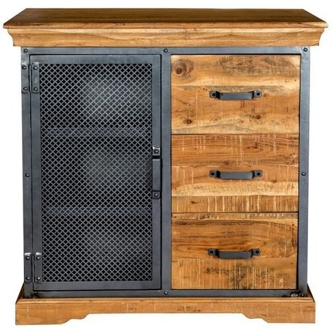 Indian Hub Metropolis Industrial Sideboard