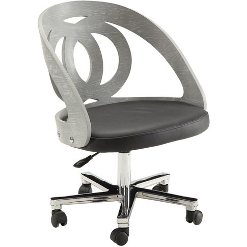 Jual Curve Grey Office Chair Pc606