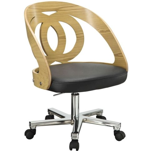 Jual Curve Oak Office Chair PC606