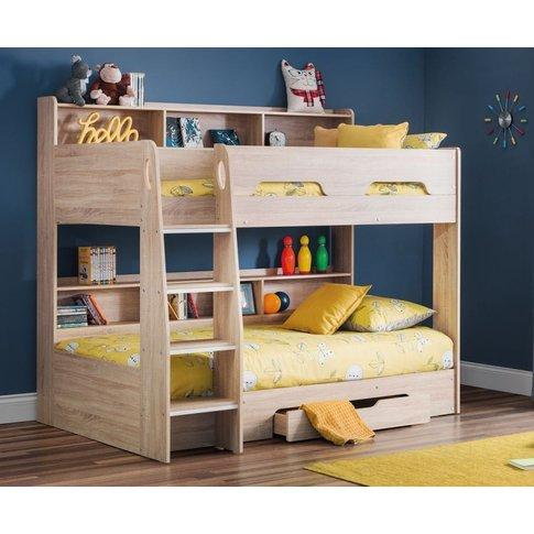 Julian Bowen Orion Sonoma Oak Bunk Bed