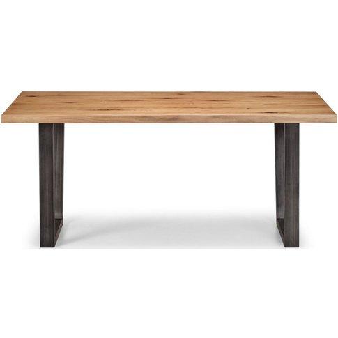 Julian Bowen Brooklyn Oak Dining Table