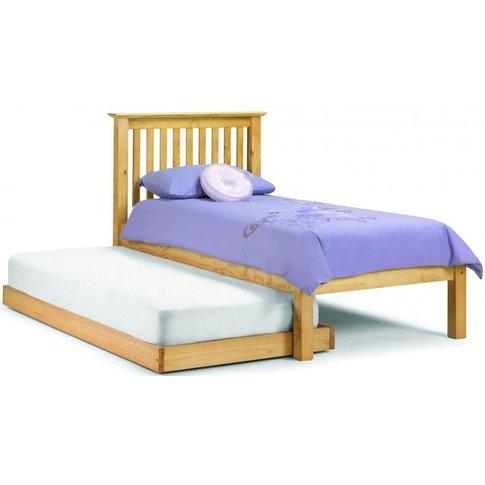 Julian Bowen Barcelona Pine Bed With Hideaway Bed