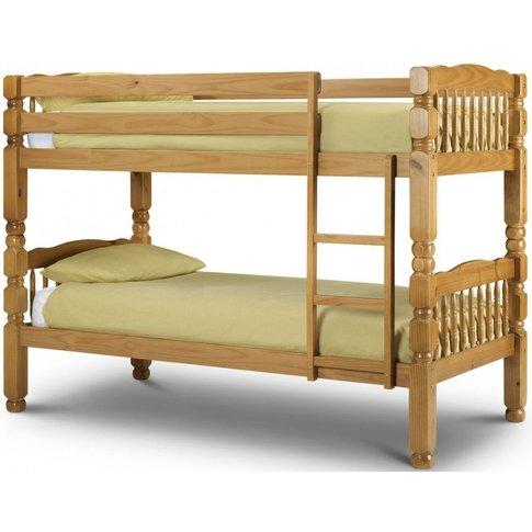 Julian Bowen Chunky Pine Bunk Bed