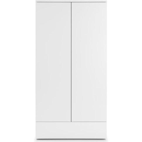 Julian Bowen Monaco White High Gloss 2 Door 1 Drawer...
