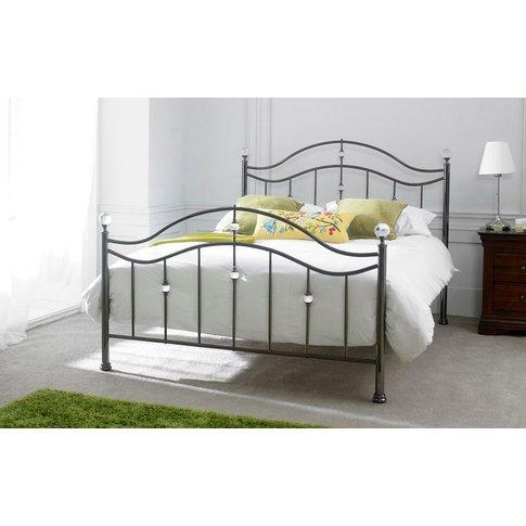 Limelight Cygnus Black Chrome Metal Bed