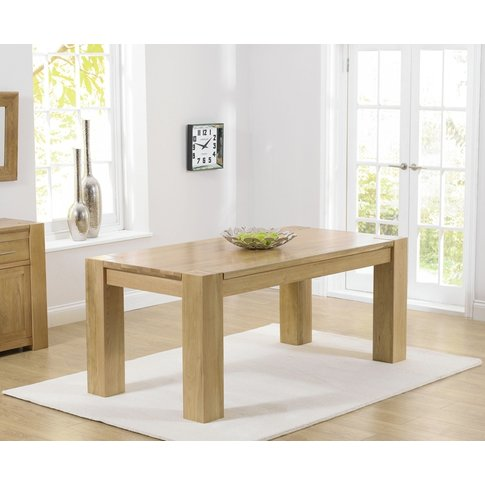 Mark Harris Tampa Oak 150cm Dining Table