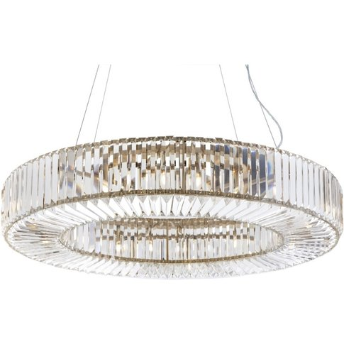 Rv Astley Fairlawns Oval Chandelier