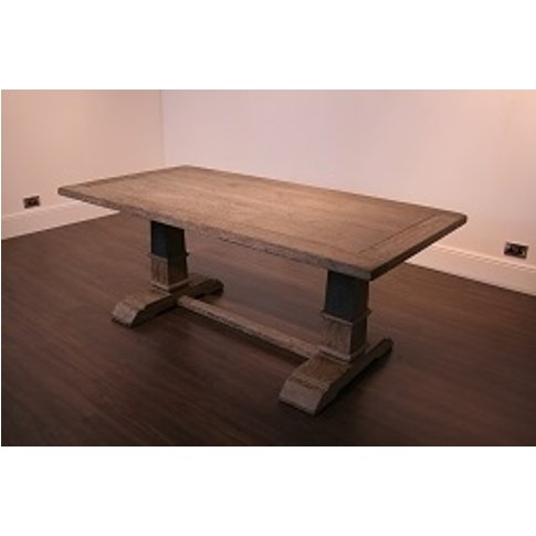 Rv Astley Merek Long Brown Dining Table