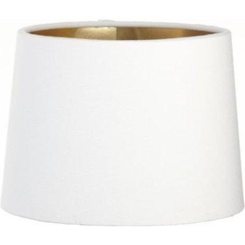 Rv Astley Opal Lamp Shade With Gold Lining - Dia 15cm